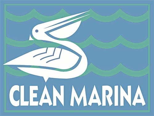 "Look for marinas certified as a ""Clean Marina."