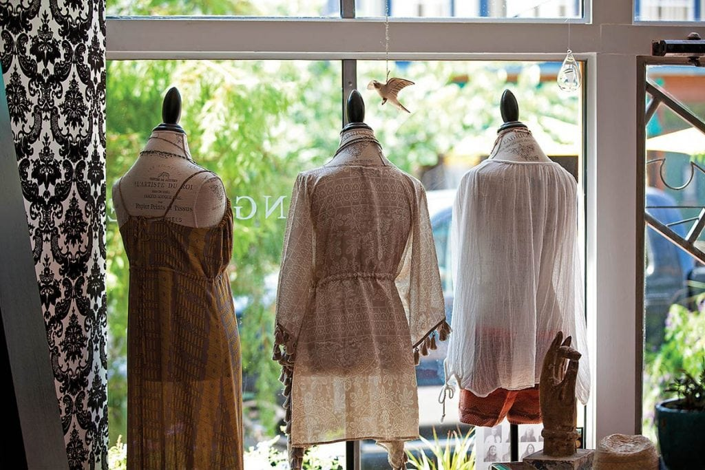 Tangerine Boutique is one of more than 100 unique shops downtown. Photo: Galveston Island CVB