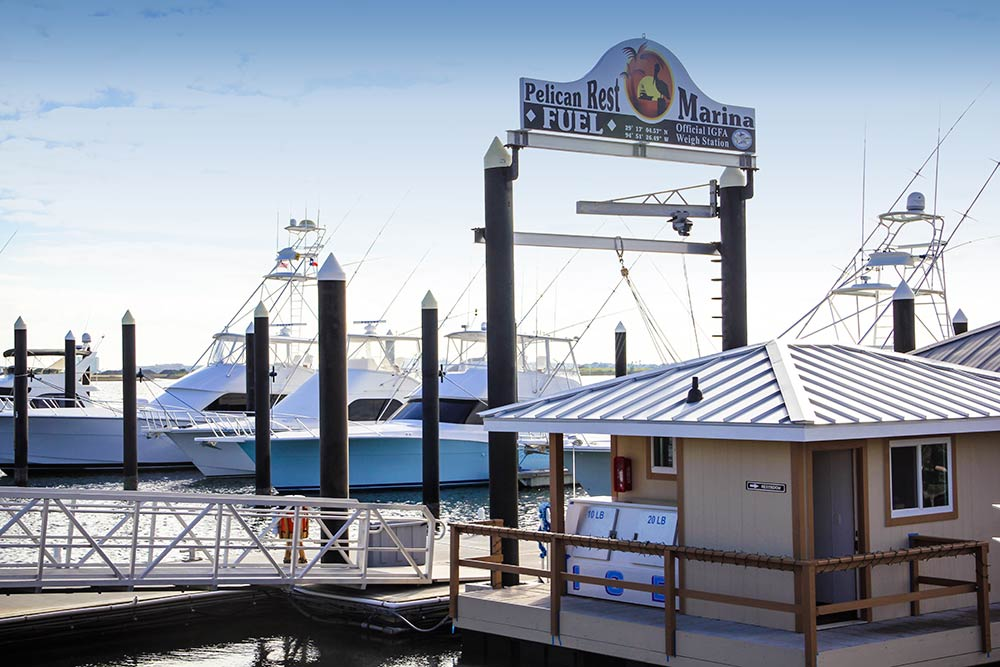 The Pelican Rest Marina; Photo: Troy Gilbert