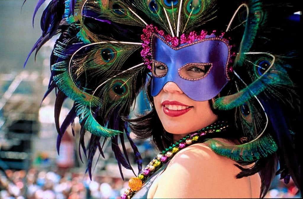 Mardi Gras in Galveston, TX; Photo: Lee Deforke, Jr.