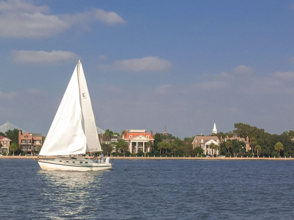 Charleston Sailing in the Harbor. Photo: Explore Charleston