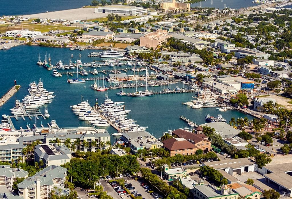 Key West Bight Marina. Photo: Rob-O'Neal
