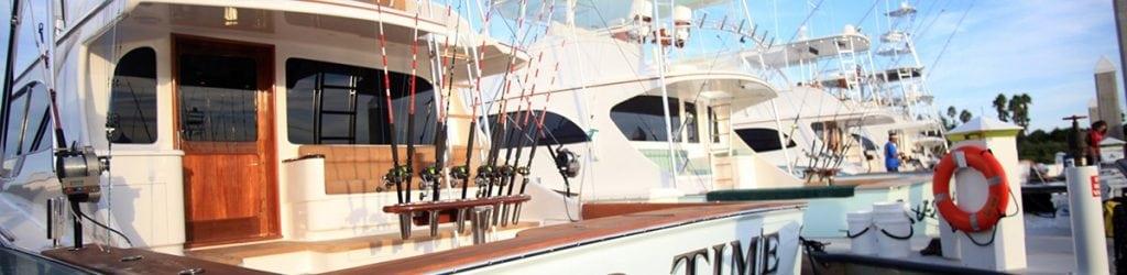 Just some of the many boats anchored at the New Smyrna Marina.