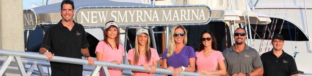 The employees of the New Smyrna Marina.