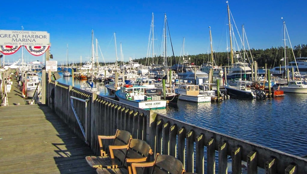An image of Dysarts Great Harbor Marina