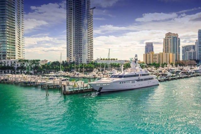 An image of Miami Beach Marina