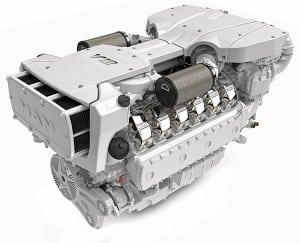 Man High-Speed-Four Stroke V12-1900 Powerhouse