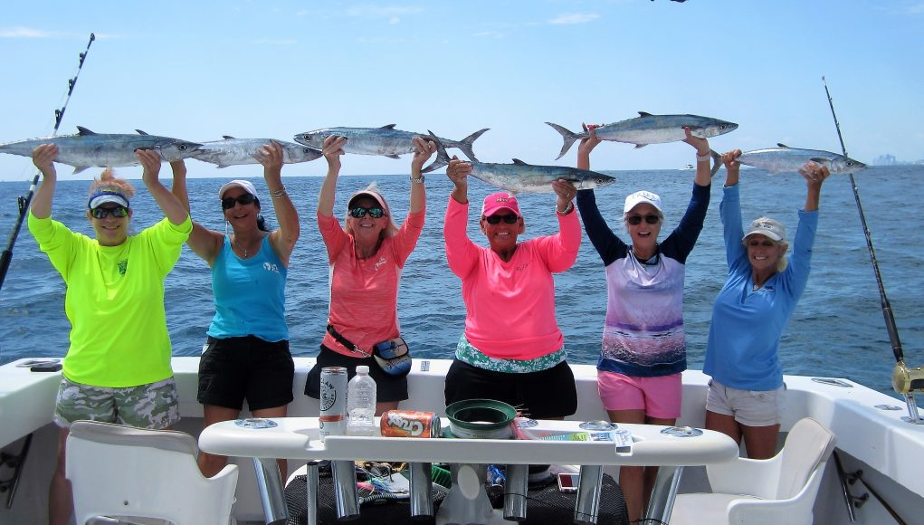an image of a ladies lets go fishing event
