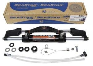 SeaStar ob steering cylinder. Photo: Fredwarner1.net