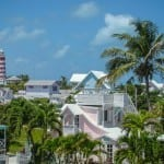 An image of Hope Town's famous lighthouse. Tips for Anchoring in the Bahamas