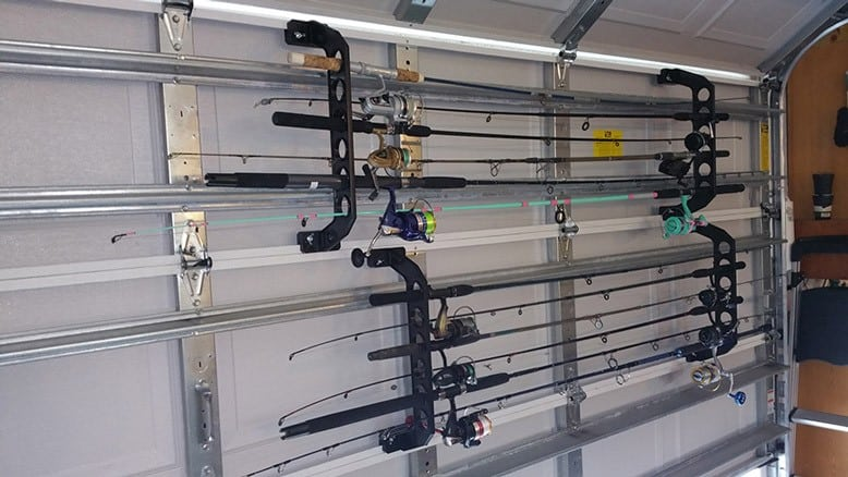 A second view of Cobra's Rod and Reel Storage unit.