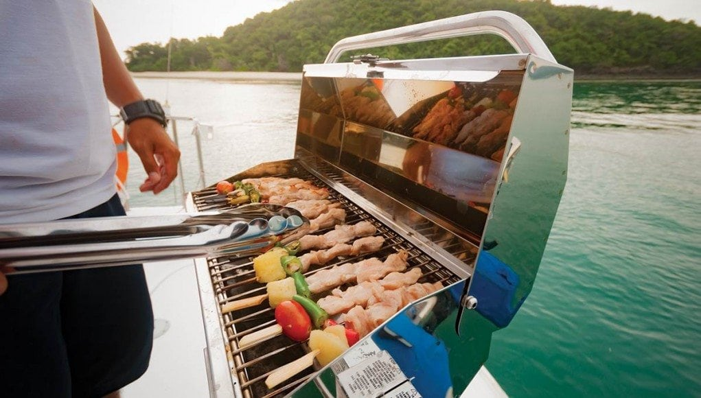 Practice Grill Safety