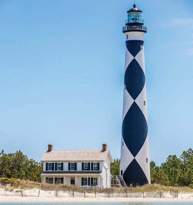 The Lighthouse at Cape Lookout, Beaufort NC