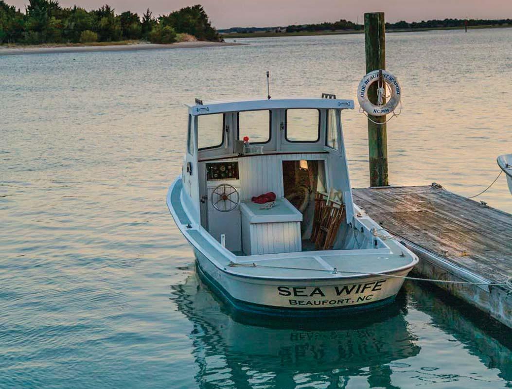 Beaufort, North Carolina and Jarrett Bay Boatworks