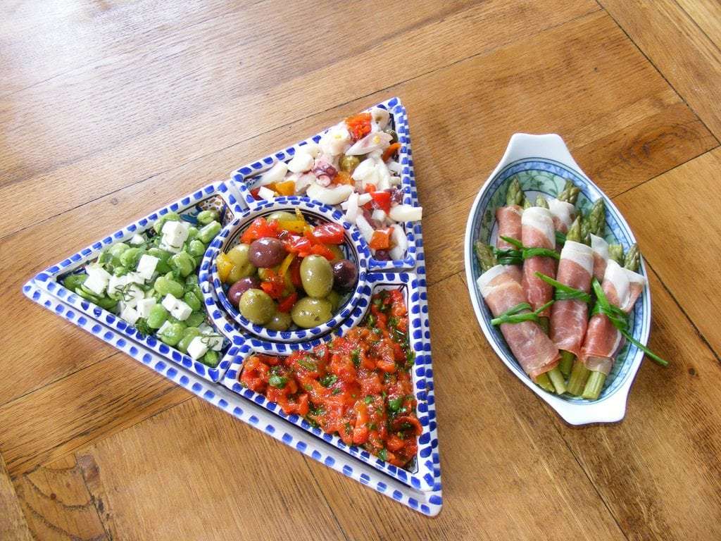 Simple and Beautiful Greek Mezes