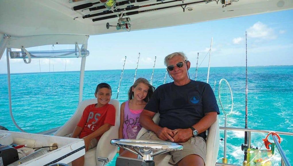cruising with grandparents