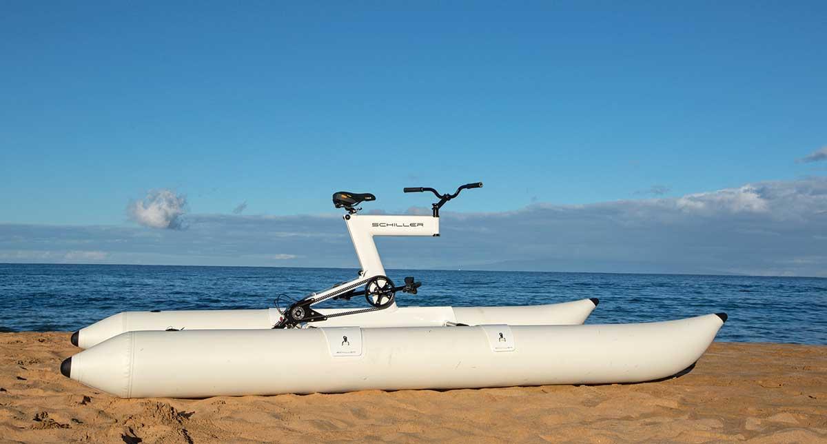 Schiller's S1 water bike
