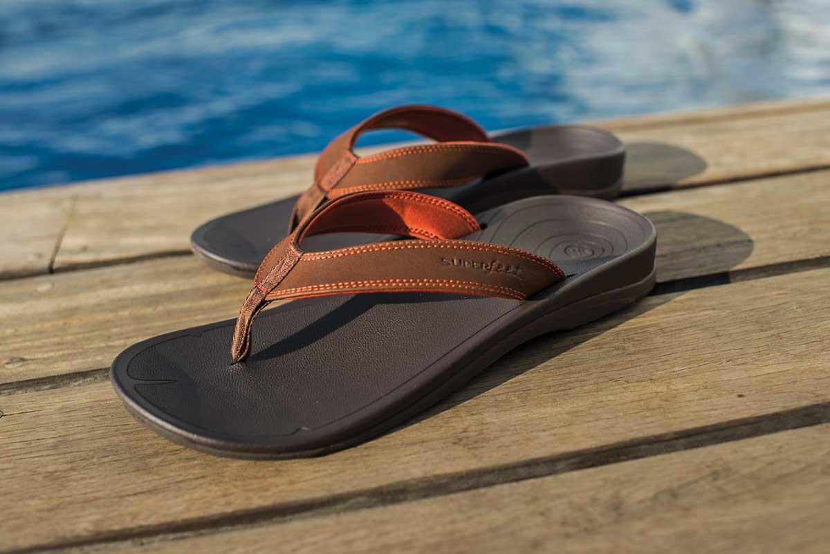 Turn your feet into super feet with the Superfeet Sandal.