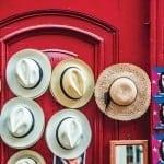 Panama hats in Havana
