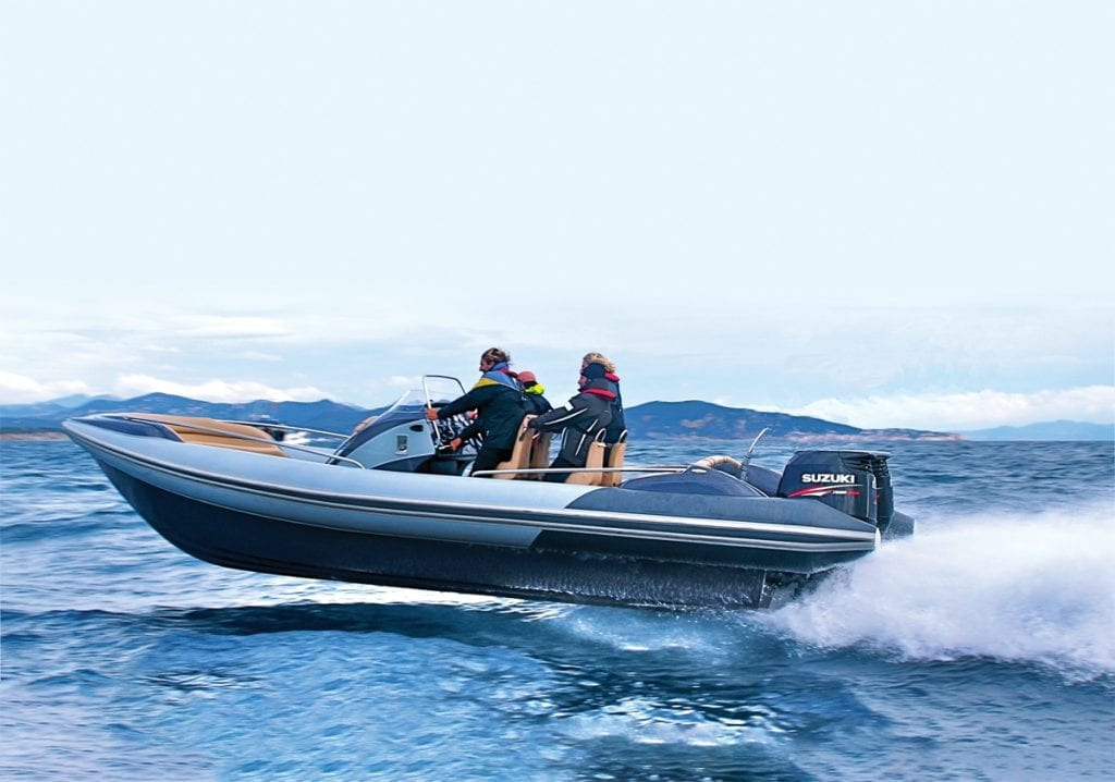 Hyfoil foiling RIB 28 in the Top 15 Tenders and RIBS