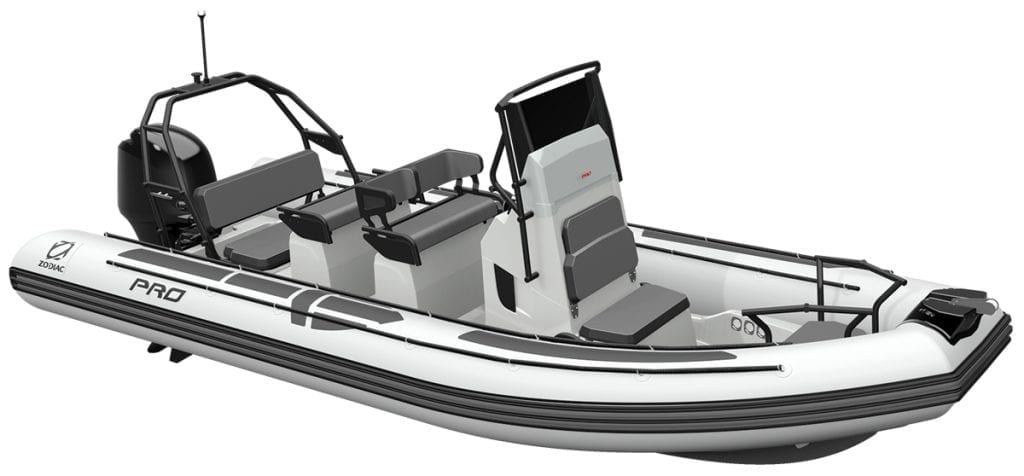 Zodiac Pro 6.5 top tenders and Ribs from Southern Boating