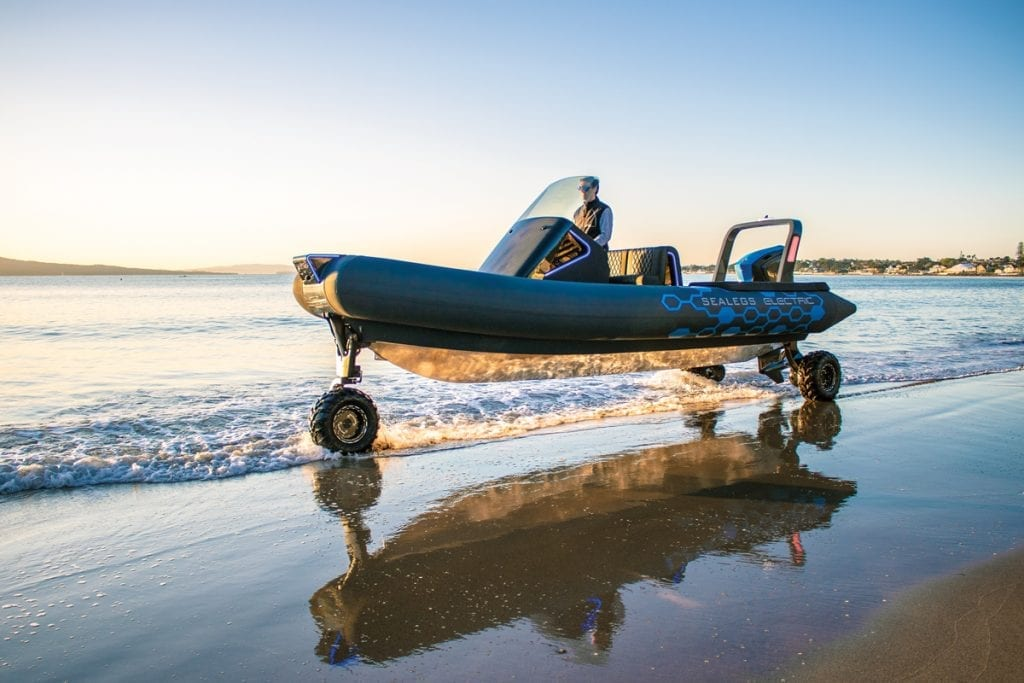 Sealegs-Electric-E4 from Southern Boating Top Tenders and RIBs