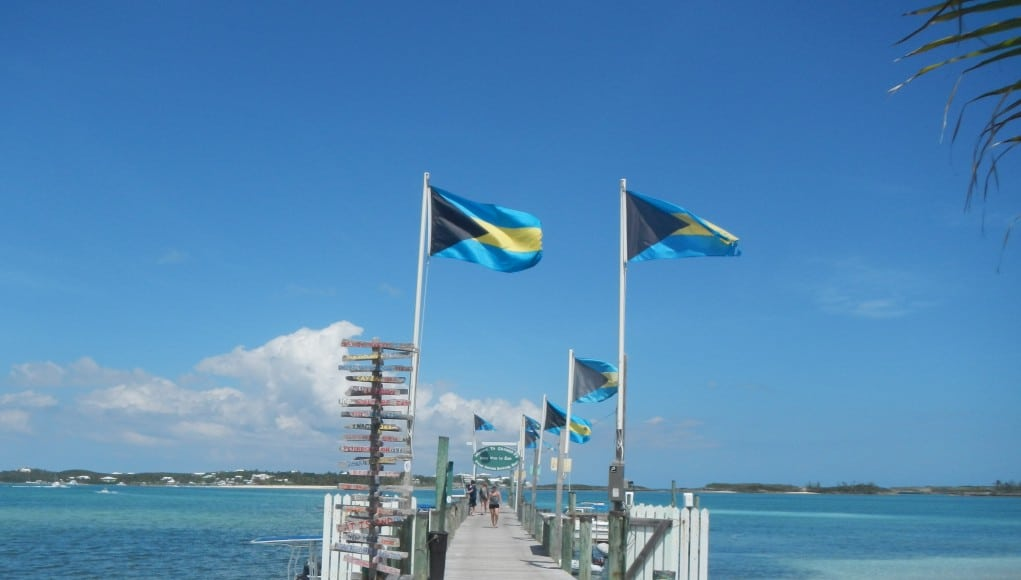 white sound and lubbers quarters cay
