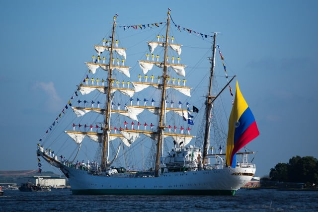 Tall Ships in Charleston