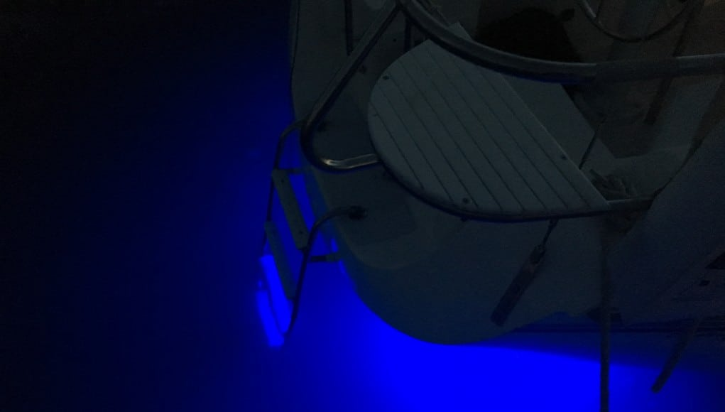 Nightwatch underwater lighting