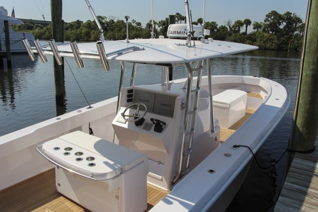 An image of the aft Venture 39 Open