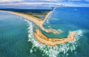 A new island has formed in Cape Hatteras
