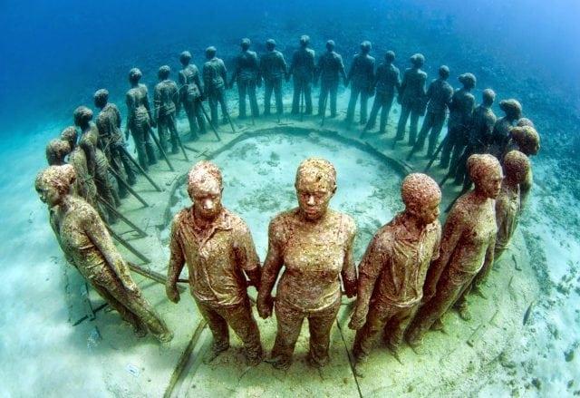 underwater marine parks