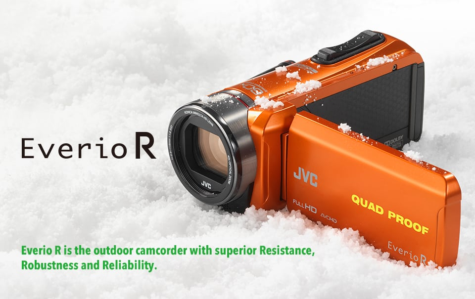 JVC's Everio R Allweather Floating Camcorder