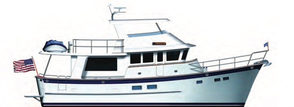 Kadey Krogen 50 Open- Long Range Cruising Guide