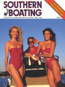 Southern Boating's 45 years of covers