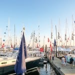 The Newport Boat show takes hold of the official start of boat show season. Photo Credit: Discover Newport, RI