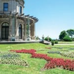The famous garden at the even more famous Breakers Mansion in Newport, RI. Photo Credit: Discover Newport.