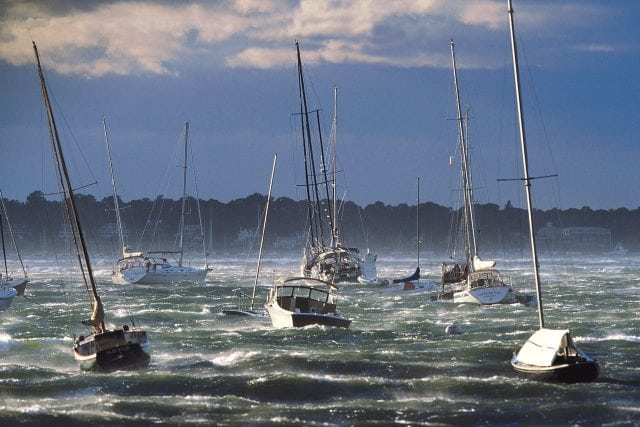 storm anchoring plan, Fortress Anchors storm preparation, anchoring in a storm, how to anchor, how to anchor in a sto