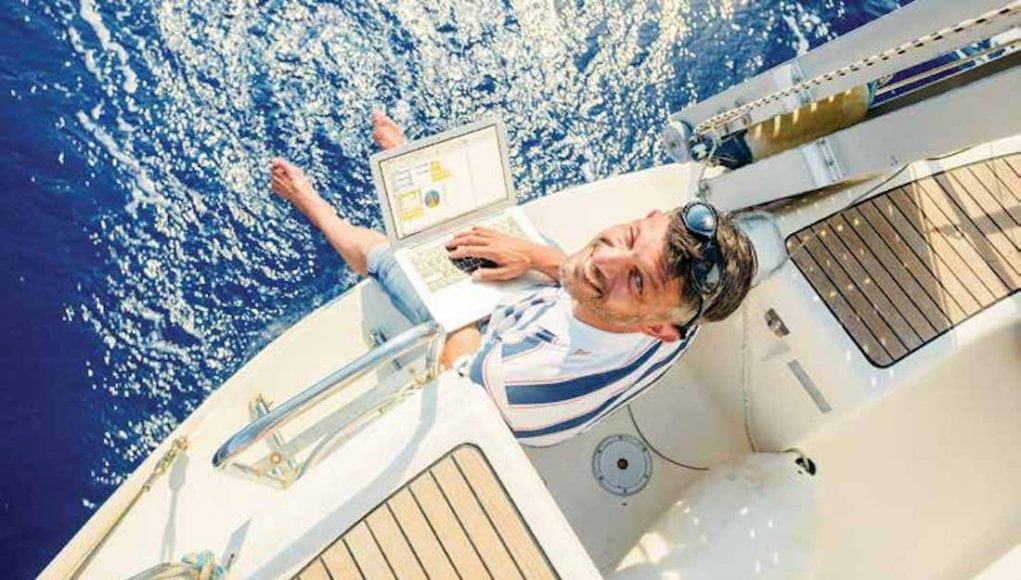 Stay Connected with Global Marine Systems satellites and get Internet on your boat
