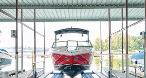 he most common misconception about boat lifts isthat they are too expensive,