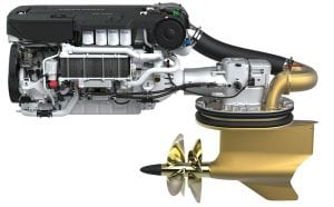Volvo Penta, power products, is the newest in outboard engines