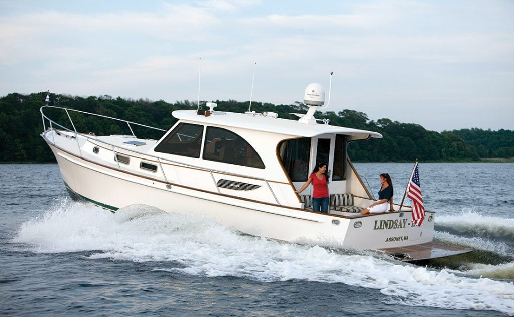 Legacy 42, Downeast Boats Roundup, Top Downeast boats, 16 Downeast boats, lobster boats, maine-style, high-end, heritage,