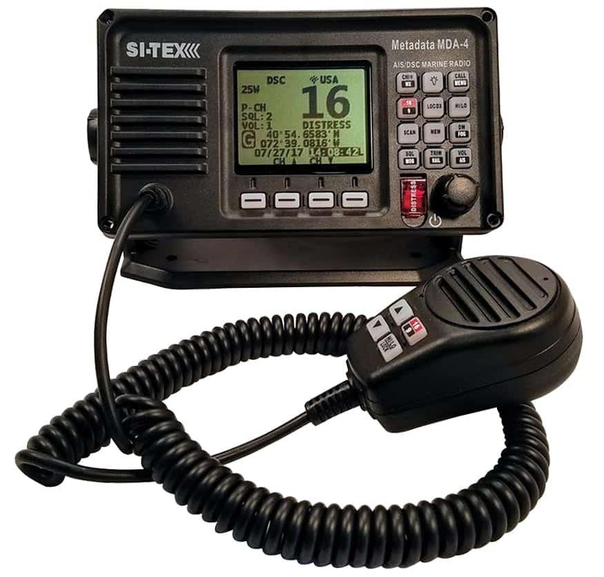 radiotelephone, Si-Tex Marine Radiotelephone , VHF, Marine radio, AIS,