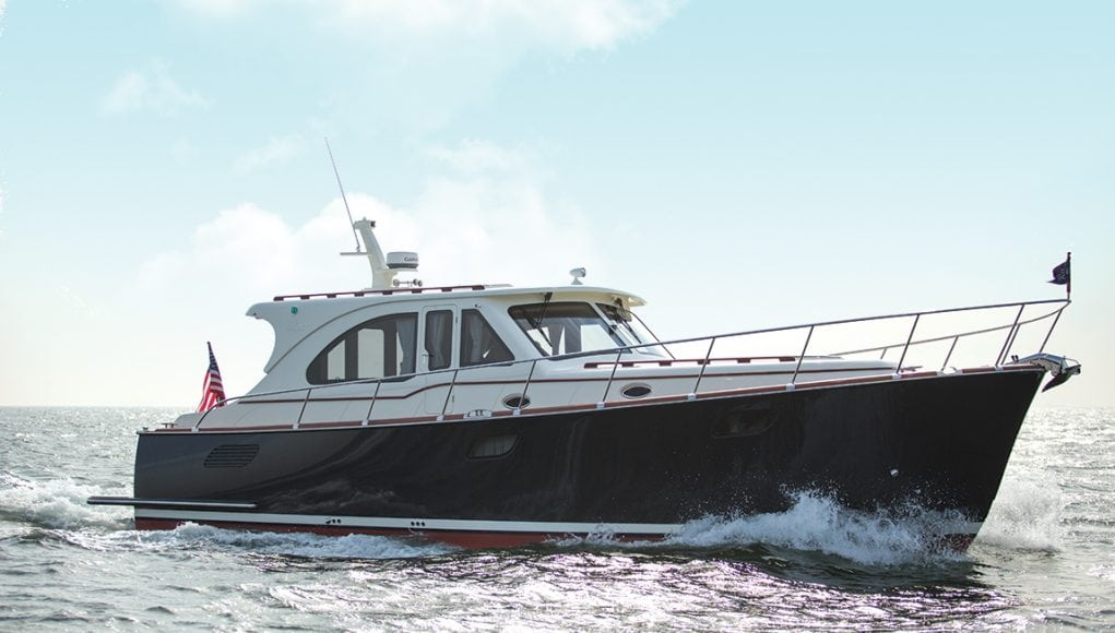 Vicem 46 IPS, Vicem 46 IPS, Downeast Boats Roundup, Top Downeast boats, 16 Downeast boats, lobster boats, maine-style, high-end, heritage,