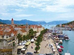 Croatia, Trogir Castle, Croatia Hva rStary Grad gourmet store,Lavender,Bisovo Blue Cave, Cruising Croatia, charter in Croatia