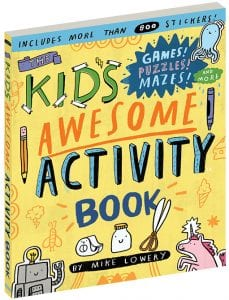 Kids-activity-book holiday gift guide