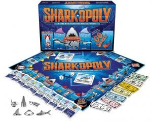 Sharkopoly Board Game for a kids gift this holiday