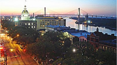 Savannah, Ga, Georgia, Port City