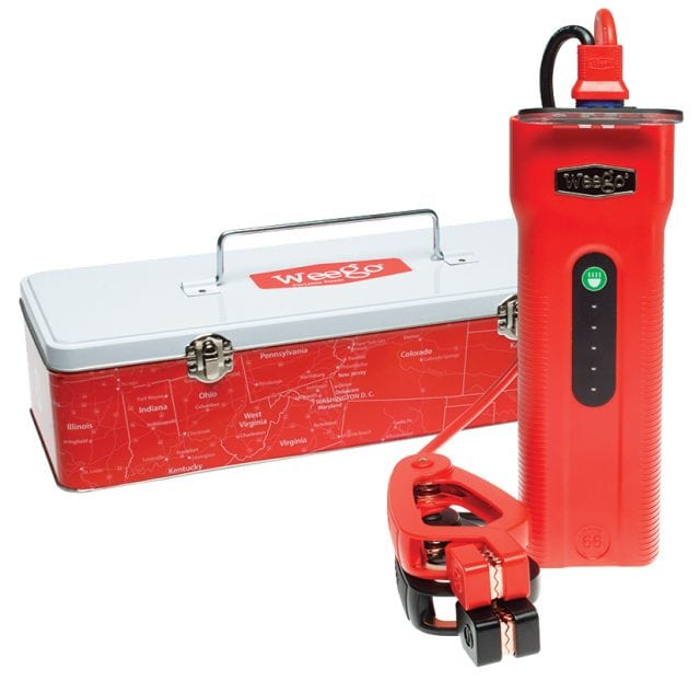 WeeGo, Batteries, charger, battery, portable power, WeeGo 66, jump start, best boat batteries