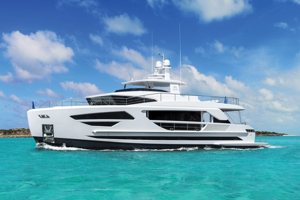 Horizon FD85, Miami Boat Shows